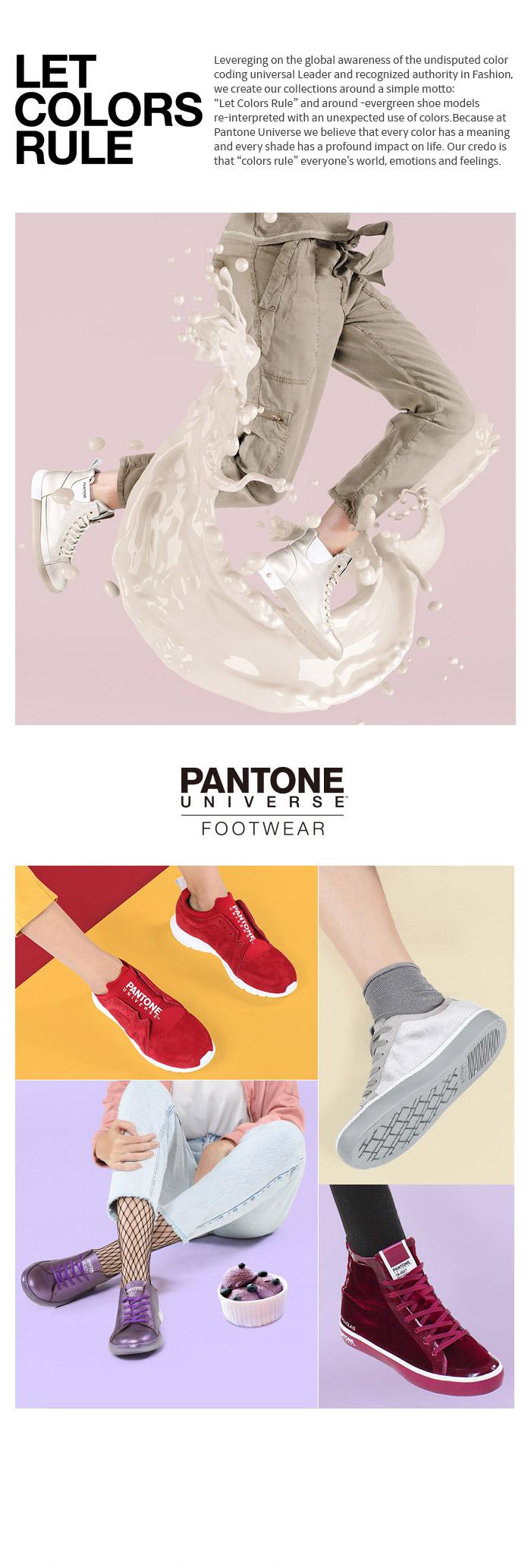 팬톤(PANTONE UNIVERSE FOOTWEAR) STAR FISH SneakersMeteorite [P181SE02BK]
